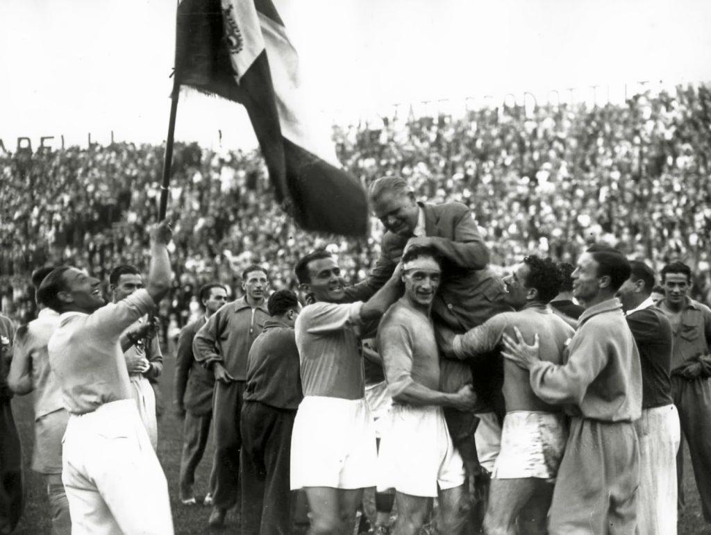 Italia y su primera Copa del Mundo
