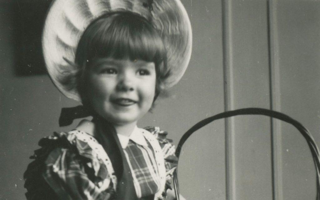 Martha Stewart de niña