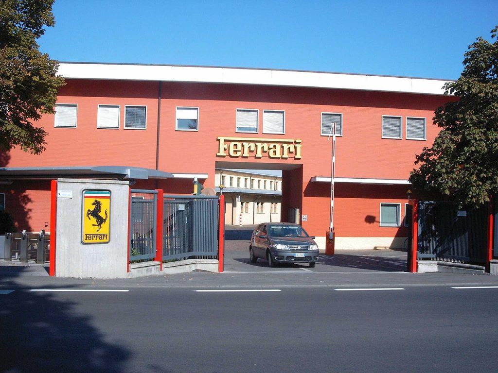 Fábrica de Ferrari en ciudad de Maranello