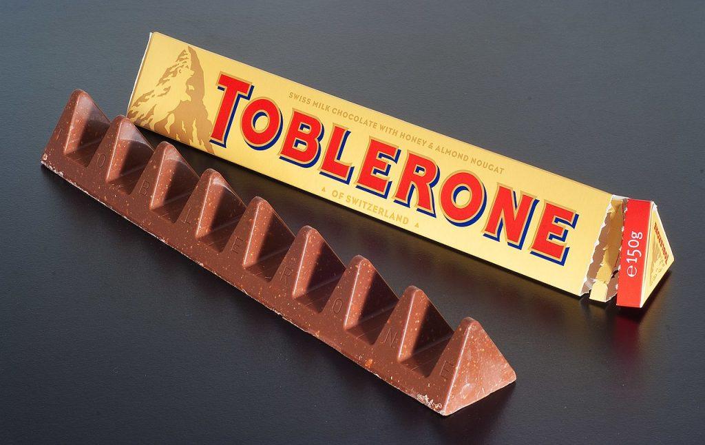 barra de toblerone
