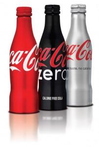 Botella con el Logo de Coca Cola
