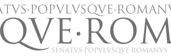 Escritura capital romana (Trajan)