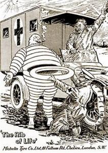 Bibendum en la I Guerra Mundial