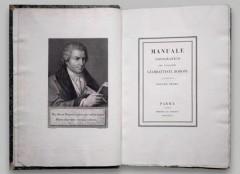 Manual Tipografico de Bodoni