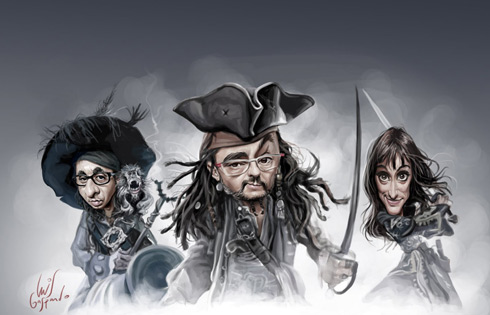 """Piratas del Caribe"""