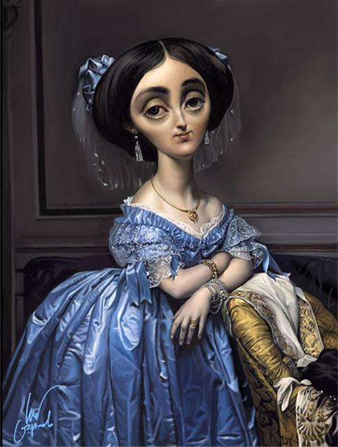 Ingres. Princesa de Broglie