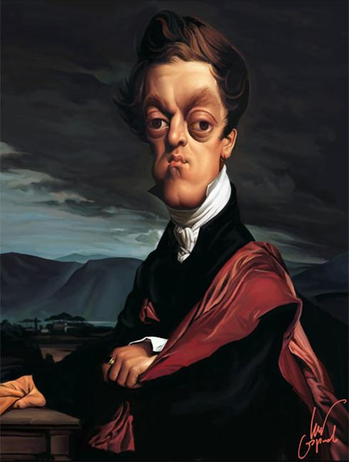 Ingres. Count Guriev