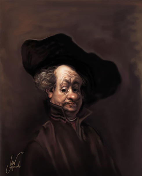 Rembrandt. Autoretrato