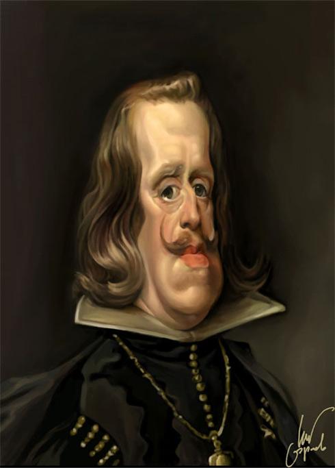 Velazquez. Retrato de Felipe IV