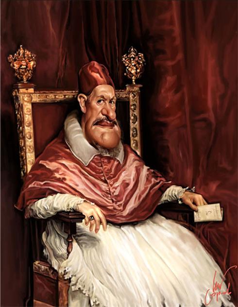 Velázquez. Inocencio X