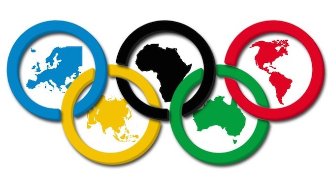 Asociación de los colores por continentes aceptado popularmente | vía: Deporte de primaria