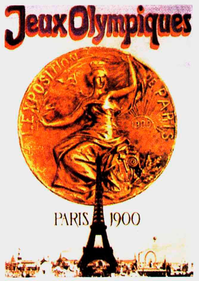 Cartel de los Juegos Olímpicos de París, 1900