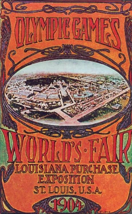 Cartel de los Juegos Olímpicos de San Luis, 1904
