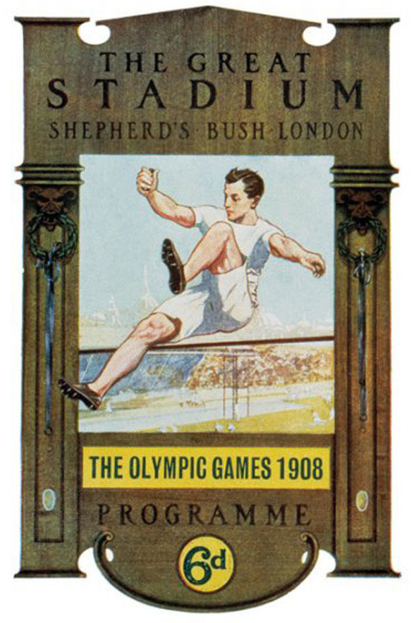 Cartel de los Juegos Olímpicos de Londres, 1908