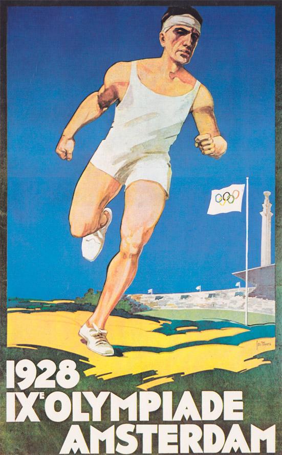 Afiche de los Juegos Olímpicos de Ámsterdam, 1928