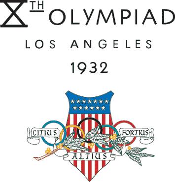 Logo de los Juegos Olímpicos de Los Ángeles, 1932