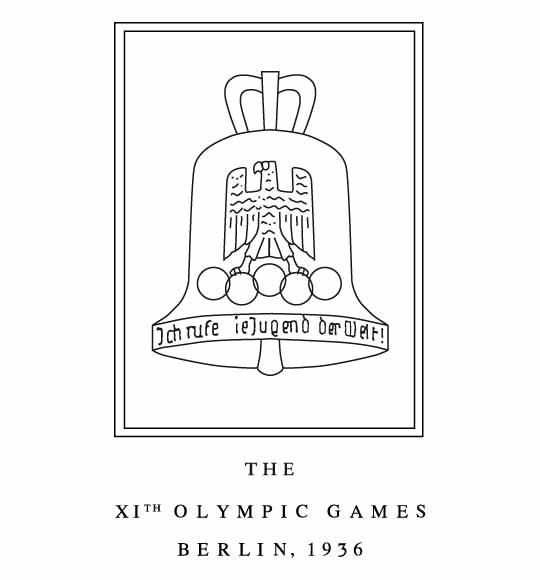 Logo de los Juegos Olímpicos de Berlín, 1936