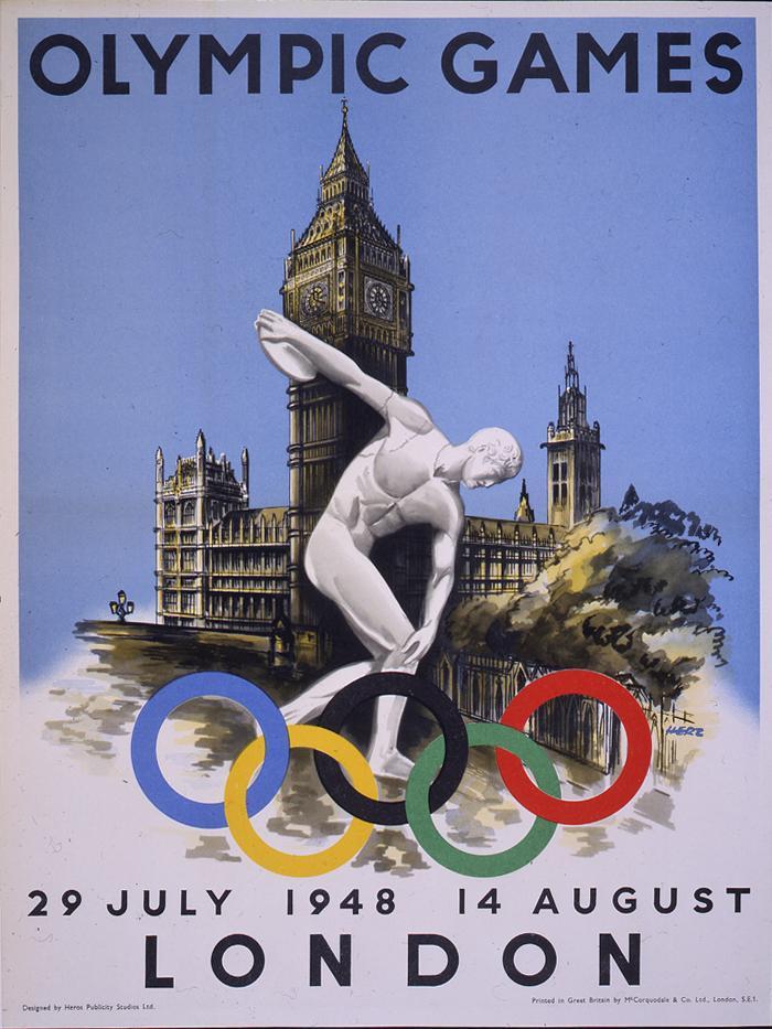 Cartel de los Juegos Olímpicos de Londres, 1948