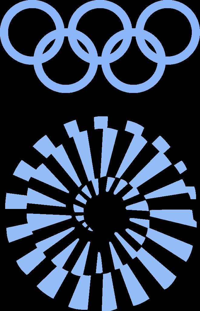 Logo de los Juegos Olímpicos de Múnich, 1972