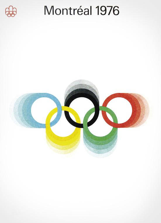 Cartel de los Juegos Olímpicos de Montreal, 1976