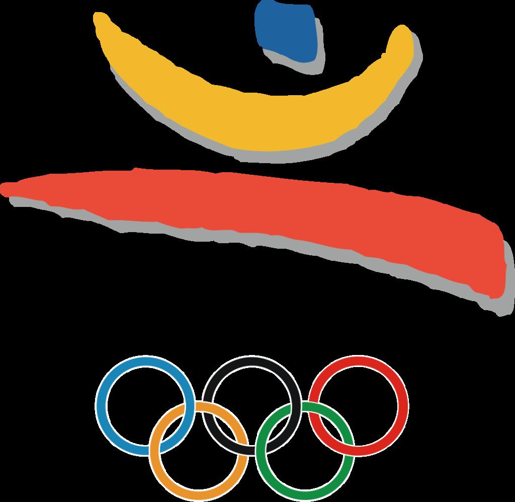 Cartel de los Juegos Olímpicos de Barcelona, 1992