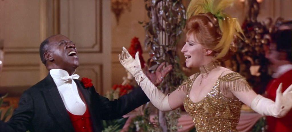 Barbra Streisand y Louis Armstrong cantando Hello Dolly