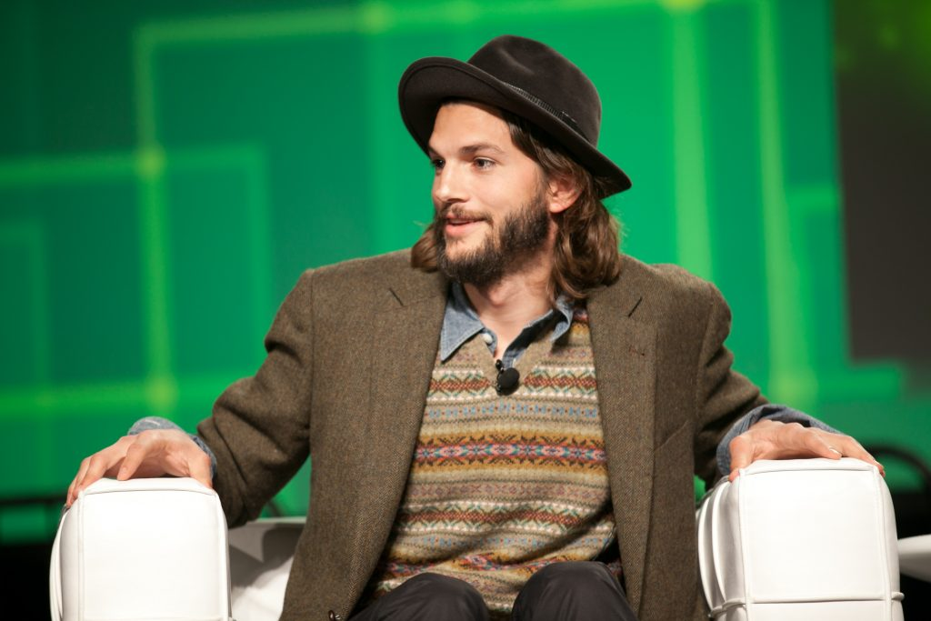 Ashton Kutcher en TechCrunch Disrupt 2011