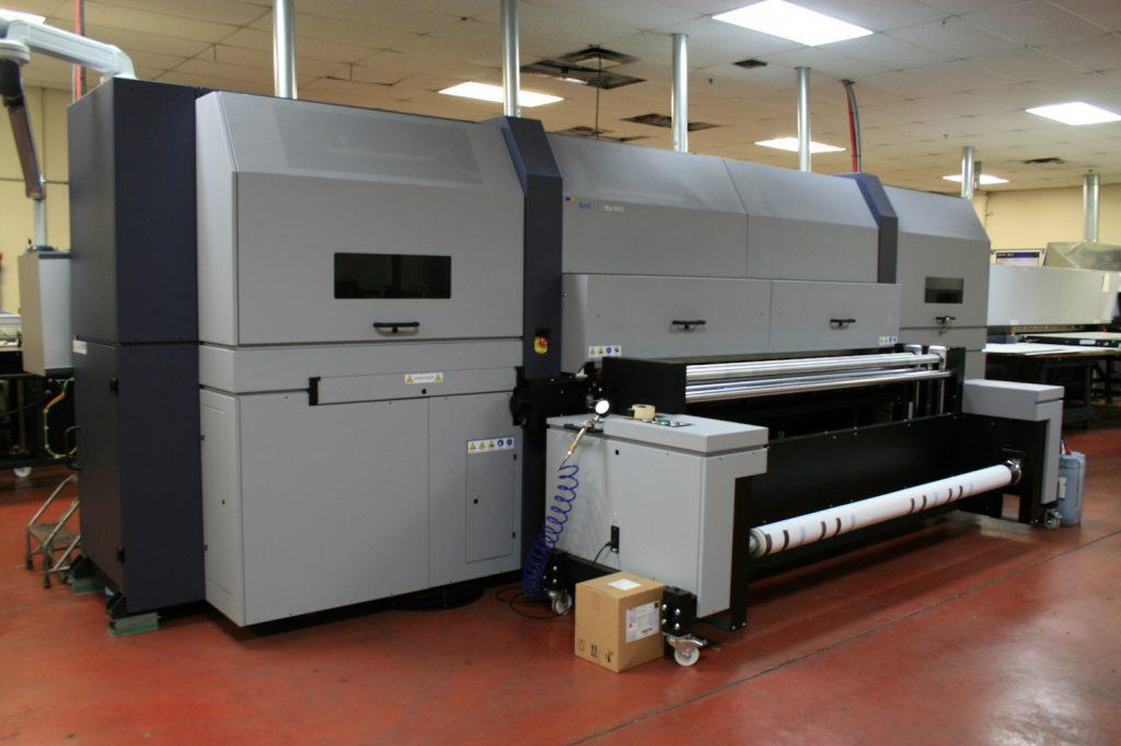 Impresora industrial de libros
