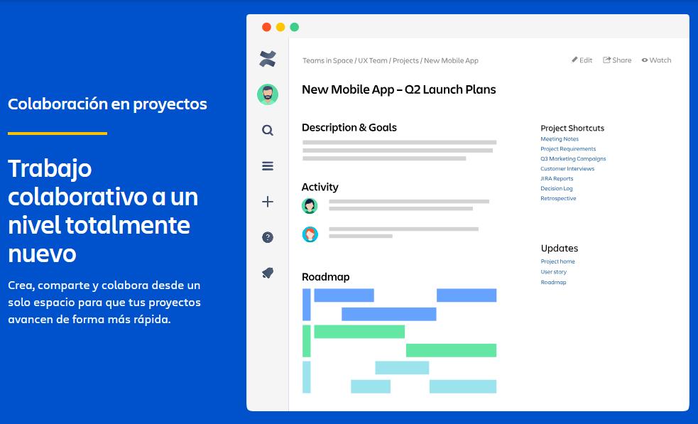 Confluence herramienta de Atlassian
