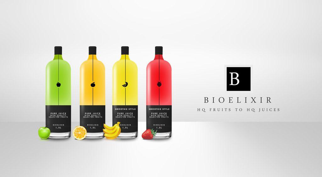 botellas de jugos de calidad