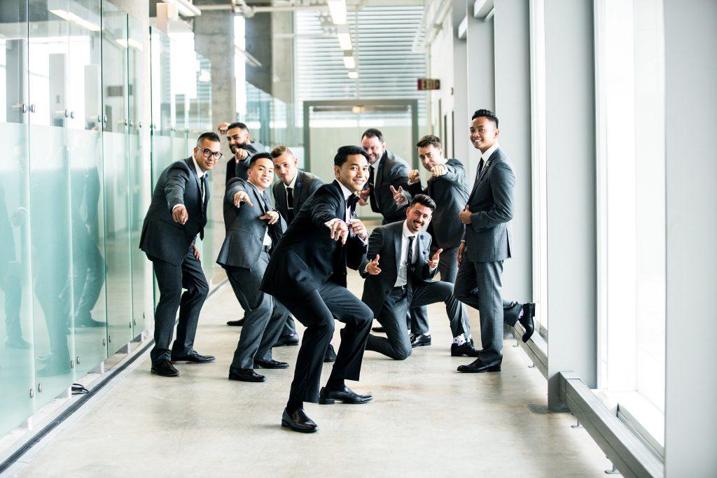Grupo de ejecutivos