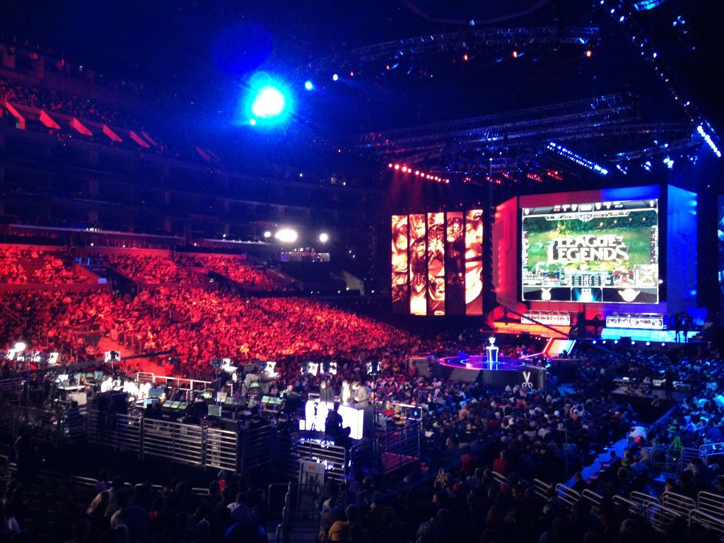 Final de LoL World Championship en el Staples Center 2013