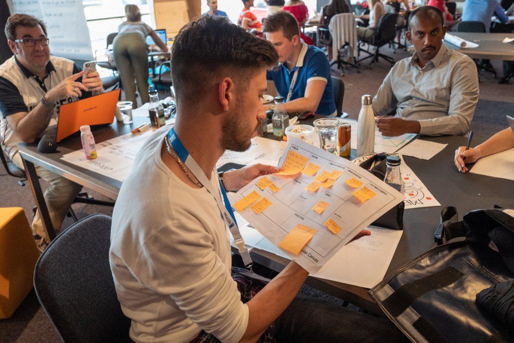 Lean Startup Startup Weekend de Zurich