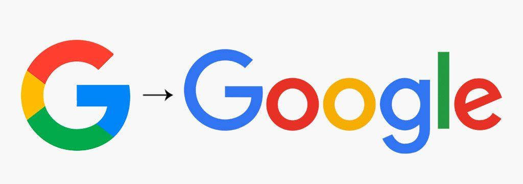 Logo geométrico de Google