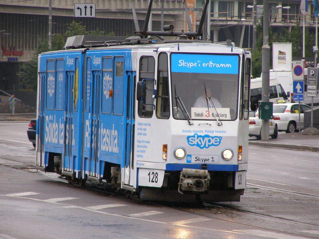 Tranvía de Skype