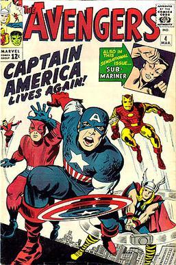Primer comic de Los Vengadores