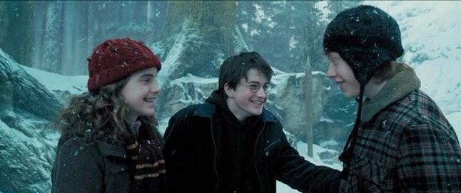 Harry Potter Hermione Granger Ron Weasly
