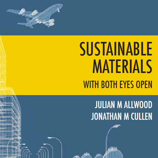 Sustainable materials with both eyes open