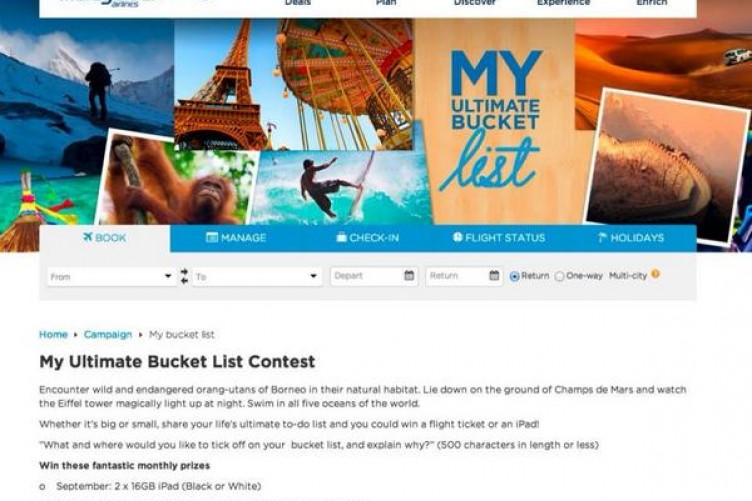Ultimate Bucket List Malaysia Airlines