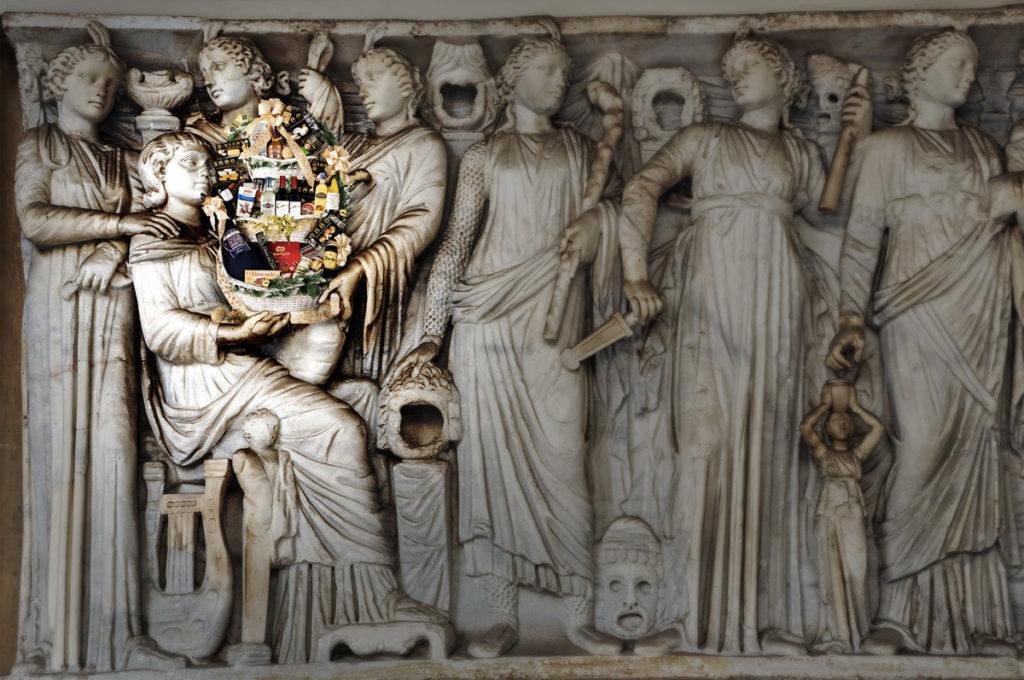 Las cestas de Navidad desde el Imperio Romano