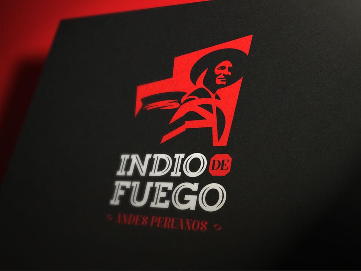 Diseño profesional de logo para Indio de Fuego