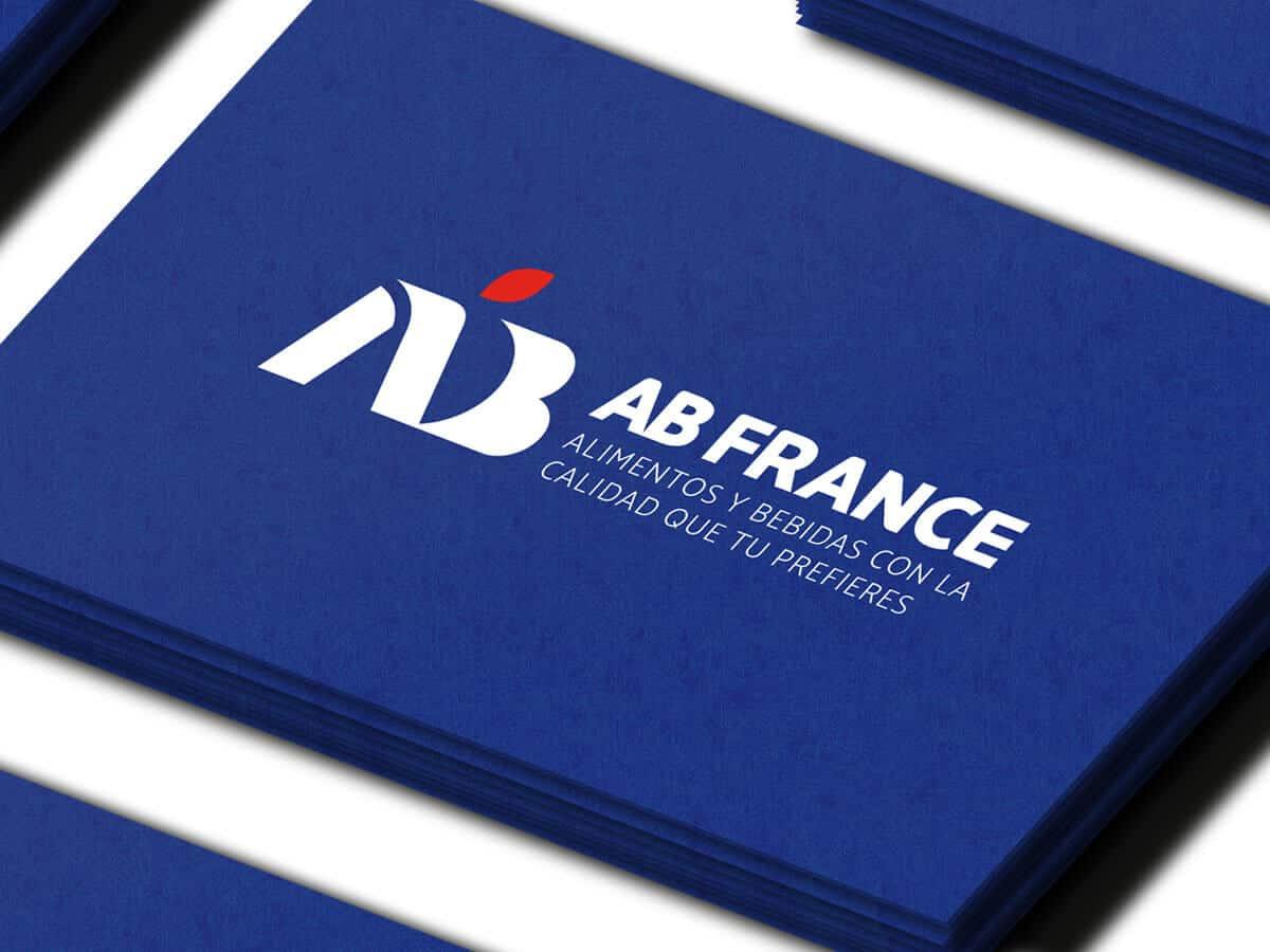 Diseño profesional de logo para AB France