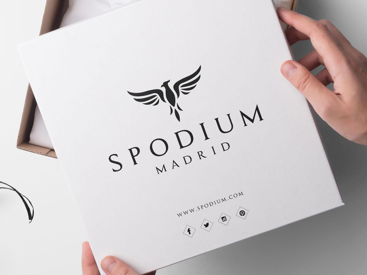 Diseño profesional de logo para Spodium