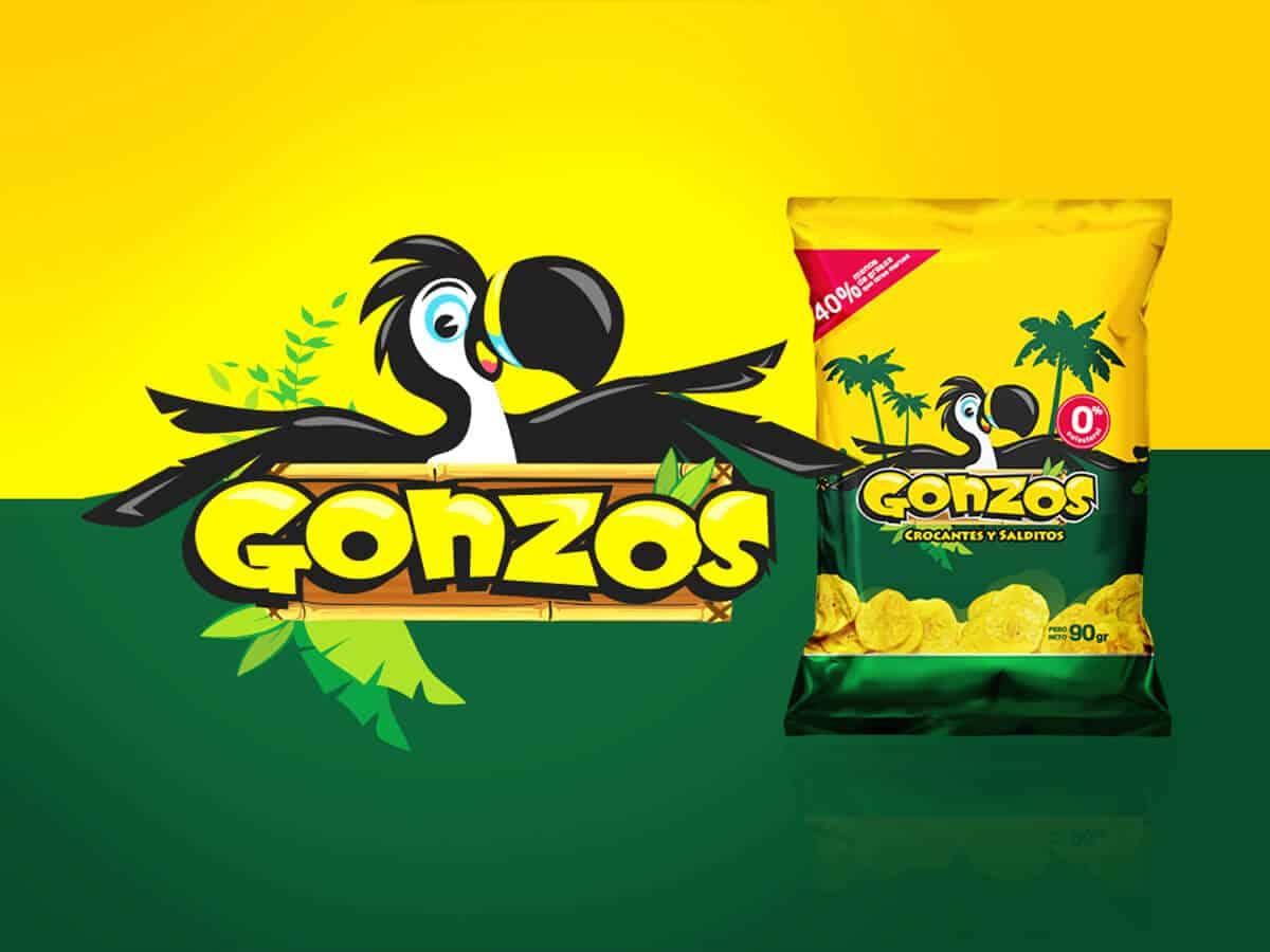 Diseño profesional de logo para Gonzos