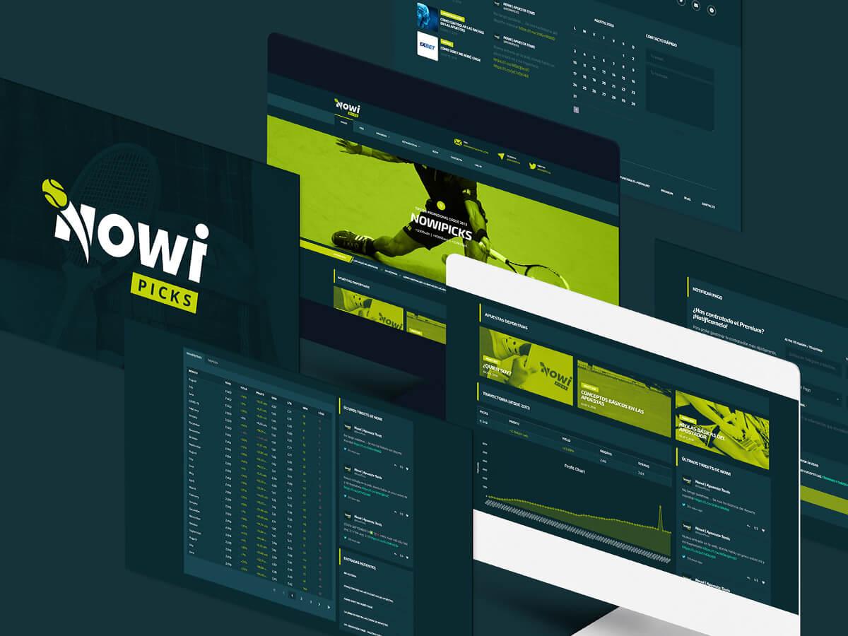 Desarrollo Web para Nowi Picks