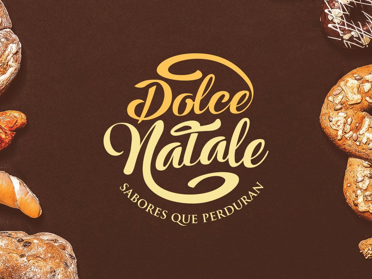 Naming y diseño de logo para la marca Dolce Natale