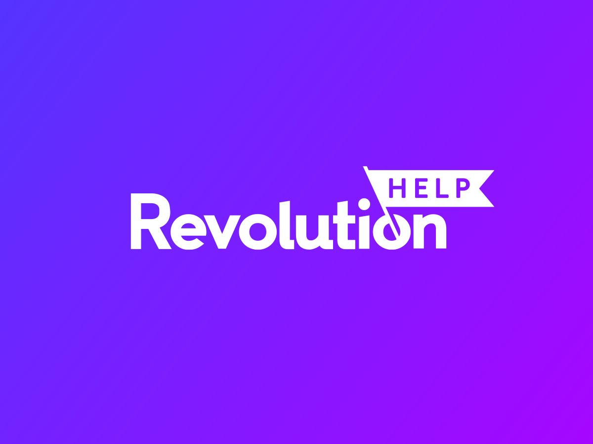 Naming y diseño de logo para la marca Revolution Help