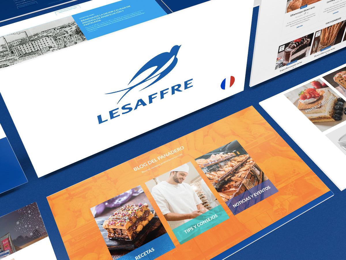 Desarrollo Web para Lesaffre