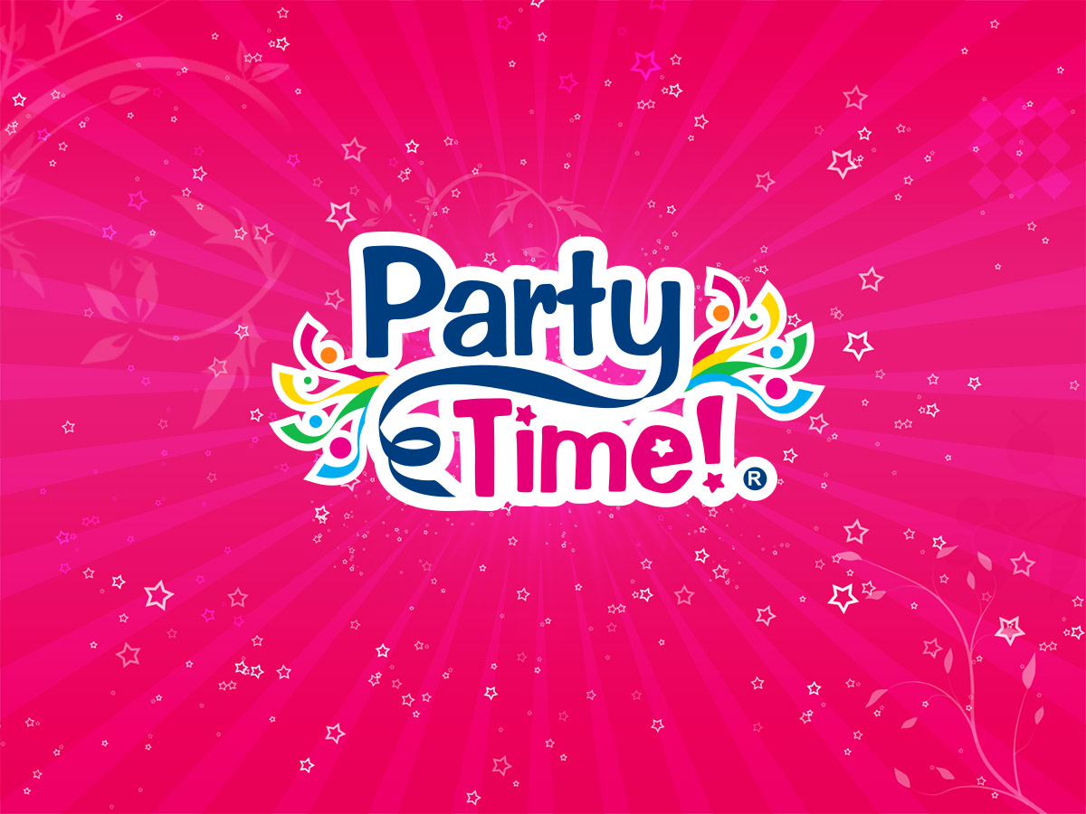 Naming y diseño de logo para la marca PartyTime