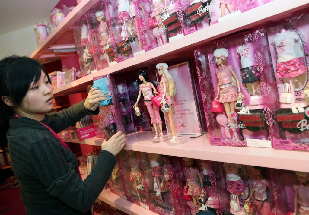 Barbie en China